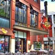 Hard Rock Cafe Denver Art Print