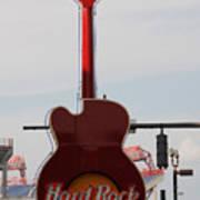 Hard Rock Cafe Nashville Art Print