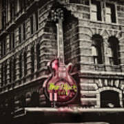 Hard Rock Philly Art Print