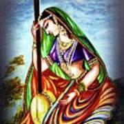 Hare Krishna - Ecstatic Chanting  Art Print