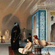 Harem Pool Art Print