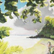 Hark Hawaii Art Print