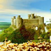 Harlech Castle Art Print
