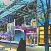 Harlem Street Scene  Art Print