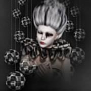 Harlequin 2 Art Print