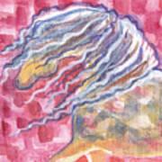 Harlequin Horse II Art Print