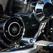 Harley Davidson 17 Art Print