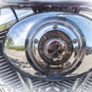 Harley Davidson Motorcycles Art Art Print