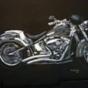 Harley Davidson Art Print