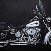 Harley Davidson Snap-on Art Print