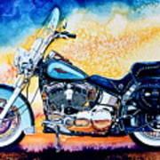 Harley Hog I Art Print