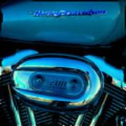 Harley Sportster 1200 Art Print by David Patterson