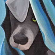 Harlow As A Puppy Art Print