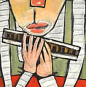 Harmonicat Art Print