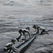 Harnessing the Ocean Art Print