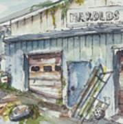 Harold's Welding Art Print