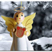 Harp The Herald Angels Sing Art Print