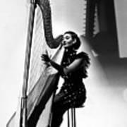 Harpist, 1935 Art Print