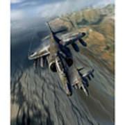 Harrier Element Art Print