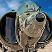 Harrier Ground Attack Jet Airplane Art Print