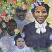 Harriet Tubman- Tears Of Joy Tears Of Sorrow Art Print