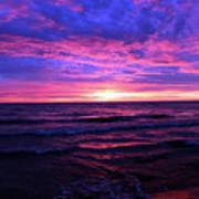 Harrington Beach Sunrise 3 Art Print