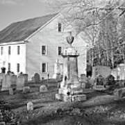 Harrington Meetinghouse -bristol Me Usa Art Print