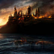 Harry Potter And The Deathly Hallows Part I 2010  Art Print