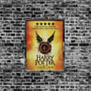 Harry Potter London Theatre Poster Art Print