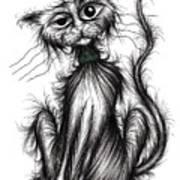 Harry The Cat Art Print