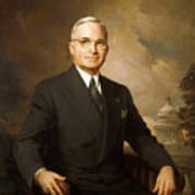 Harry Truman Art Print