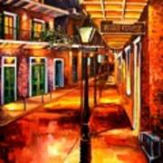 Harrys Corner New Orleans Art Print by Diane Millsap