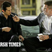 Harsh Times, Starring Christian Bale, Freddy Rodriguez And Eva Longoria Art Print