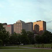 Hartford Skyline Panorama Art Print