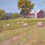 Hartville, Ohio Farm Art Print