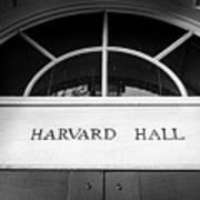Harvard Hall Art Print
