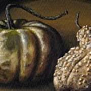 Harvest Gourds Art Print
