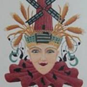 Harvest Jester Art Print