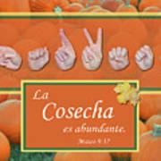 Harvest Spanish Art Print