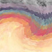 Harvest Wind- Abstract Art By Linda Woods Art Print
