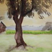 Hatch Farm Alto Michigan Art Print