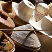 Hats For Sale Art Print