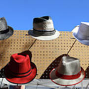Hats Selection Day Dead  Art Print