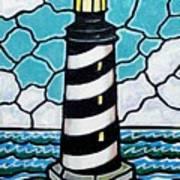 Hatteras Island Lighthouse Art Print