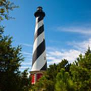 Hatteras Lighthouse Standing Guard Art Print