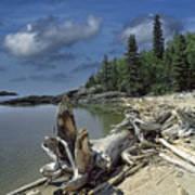 Hattie's Bay In Pukaskwa National Park Ontario Art Print