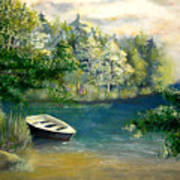 Hatzec Lake Art Print