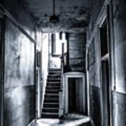 Haunted Hallway Art Print