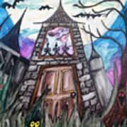 Haunted House Art Print by Jenni Walford