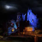 Haunted Mansion At Walt Disney World Art Print